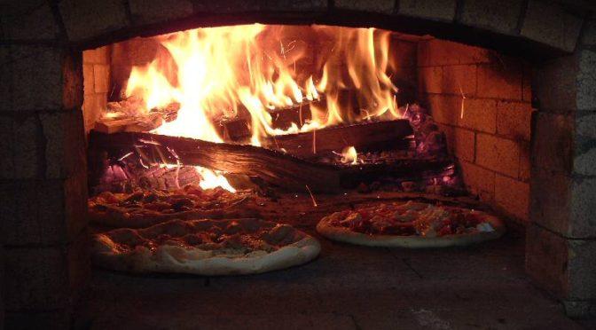 приготовление пиццы в русской печи подовое горение