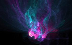 дым нежных цветов