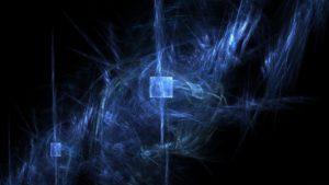 синий дым рисунок